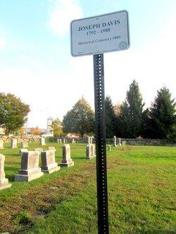 Joseph Davis Cemetery