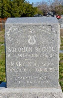 Mary S Beckom