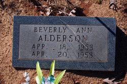 Beverly Ann Alderson