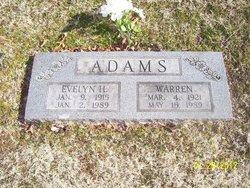 Evelyn <i>Hayward</i> Adams