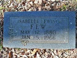 Isabelle <i>Ewing</i> Few