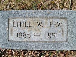 Ethel W. Few