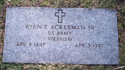 Ryan E Ackerman, Sr