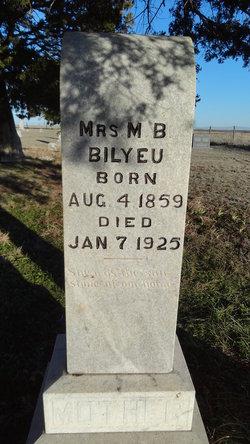 Mary Elizabeth Beth <i>Marks</i> Bilyeu