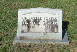 Chlozelle Lunsford <i>Porter</i> Cannon