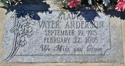 Gladys <i>Vater</i> Anderson