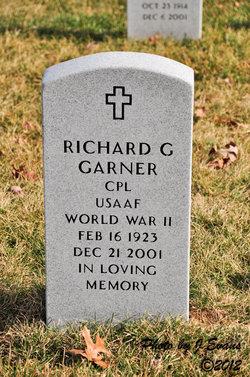 Corp Richard G Garner