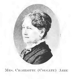 Charlotte <i>Colgate</i> Abbe