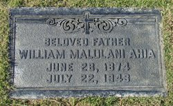 William Malulani Ahia