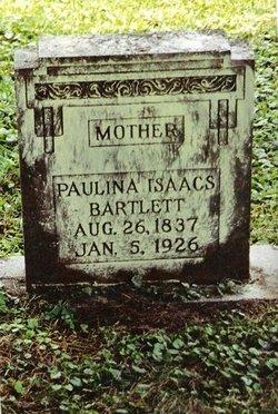 Paulina <i>Isaacs</i> Bartlett