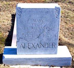 Mary A <i>Helms</i> Alexander