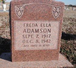 Freda Ella Adamson