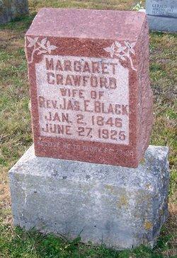 Margaret <i>Crawford</i> Black