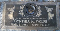 Cynthia Ruth <i>Rushing</i> Wolfe
