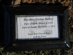 Dorothy Maxine <i>Gwinn</i> Bailey