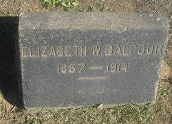 Elizabeth W. <i>Martin</i> Balfour