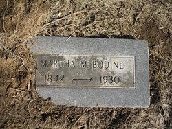 Martha M <i>Burks</i> Bodine