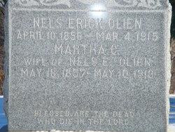 Martha Christina <i>Rulien</i> Olien