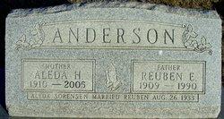 Aleda H <i>Sorensen</i> Anderson
