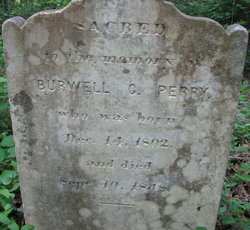 Burwell G Perry