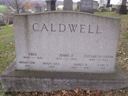 Elizabeth <i>Hissom</i> Caldwell