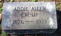 Addie <i>Allen</i> Crump