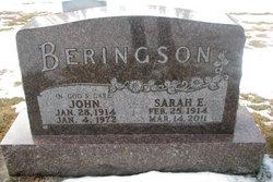 Sarah E. <i>Michel</i> Beringson