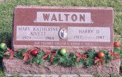 Mary Katherine <i>Kivett</i> Walton
