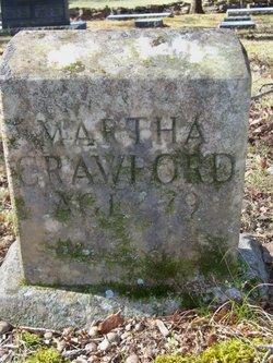 Martha Mary <i>Hedge</i> Crawford