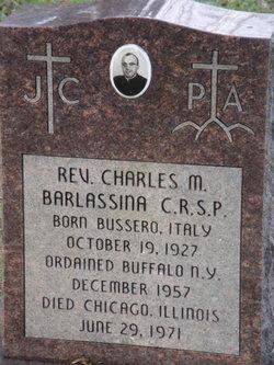 Fr Charles M Barlassina