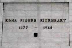 Edna <i>Fisher</i> Eikenbary
