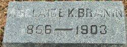 Adelaide S <i>Kirkbride</i> Branin