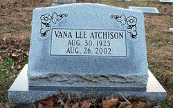 Vana Lee <i>Wilson</i> Atchison