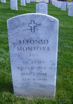Pvt Alfonso Montoya