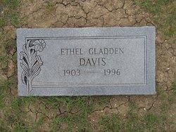 Ethel <i>Gladden</i> Davis