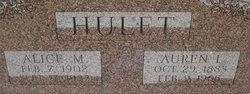 Alice M <i>Willoughby</i> Hulet