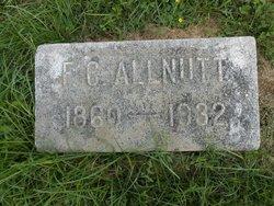Frank Crittenden Allnutt