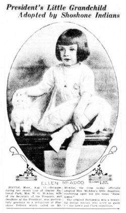 Ellen Wilson <i>McAdoo</i> Hinshaw