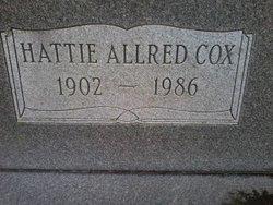 Hattie Lila <i>Allred</i> Cox