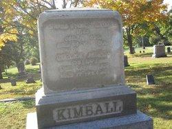 Emeline Amanda <i>Eager</i> Kimball