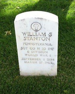 William S Stanton
