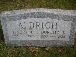 Dorothy E <i>Morrell</i> Aldrich
