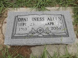 Opal <i>Iness</i> Allen