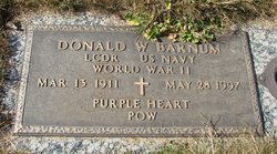 LCDR Donald Warren Barnum