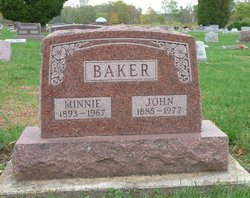Minnie May <i>Mote</i> Baker
