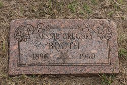 Bessie <i>Gregory</i> Booth