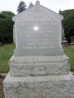 Fanny M Burkholder