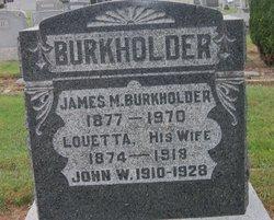 Louetta E <i>Chestney</i> Burkholder