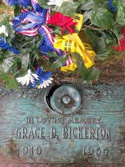 Grace D. Bickerton