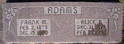 Frank M. Red Adams